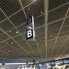 搭乗記 成田−シンガポール ANAビジネスクラス 千鳥配席