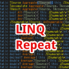 【C#,LINQ】Repeat~同じ値の要素がいっぱい入ったシーケンスを作りたいとき~