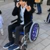 USJ ユニバーサルスタジオジャパンでは車椅子が500円でレンタルできる。