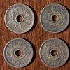 昭和13~15年の3年間発行された「10銭アルミ青銅貨」