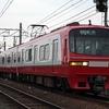 新塗装はまだ撮らなくていい 名鉄1800系 高田橋駅