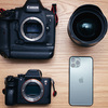 【価格差50万!?】iPhone11Proとフルサイズの一眼レフカメラ、ミラーレスカメラの画質比較!【実写レビュー】
