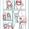 【漫画制作】現在2ページ漫画を制作中