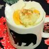 今日のごはん:6月11日のみはるごはんレシピ(マグカップポテサラ、アルフォートリッチミルクチョコ)