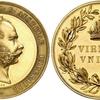 オーストリア1800年代フランツヨーゼフゴールドメダル
