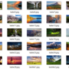 Windows10のロック解除画面の壁紙抽出