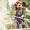 ディズニーランド:お城とミッキー!なんて素敵なポジション!