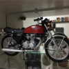 旧車(バイク)プラモデルコレクション