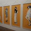 金沢21世紀美術館 江口寿史 イラストレーション展 「彼女」 より 黄色い彼女たち