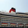 英国女王船、秋田港に初寄港3(秋田県秋田市)