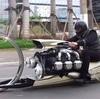 宇宙人が作ったのかと誤解されるオートバイの正体