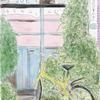 iPad+Apple Pencil+Tayasui Sketches Proで、写真を下絵にして、ロットリングペンと水彩で絵を描いてみた。