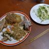 幸運な病のレシピ( 970 )昼:餃子の餡作り、スペアリブ味付け、朝の残り