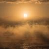 気嵐@富山湾「早天の光」