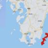 沖縄島と九州を比較してみた