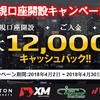 【東西FX】海外fxの口座開設12000円キャッシュバックキャンペーン開催中!(2018年4月2日~4月30日)