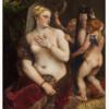 ティツィアーノ 「鏡を見るヴィーナス」 これも蛇神の化身