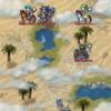 氷の国を目指してるのに砂漠へいくのん……?
