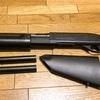 CYMA M870(CM350L)をソードオフ!