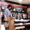 ワッシャープリーツスカート人気はまだまだつづく。