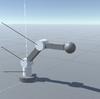 Unityでロボットアームの順運動学
