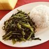 【本日のランチ】ローカル食堂で青菜サンバル炒め【DATARAN ARA DAMANSARAその2】