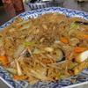幸運な病のレシピ( 746 )夜:ビーフン(豚バラ、白菜)、汁(牛、白菜)