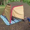 タンデムキャンプツーリング向け アウトドア用品でキャンプ