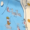 アビ渡来群遊海面