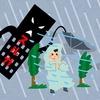スルガ台風の猛威彡