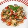 アサリとトマトの冷製カッペリーニ