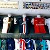 お土産にもピッタリ!?バンコクなら1,000円ちょっとでネーム入りサッカーユニフォームが買えちゃいます!