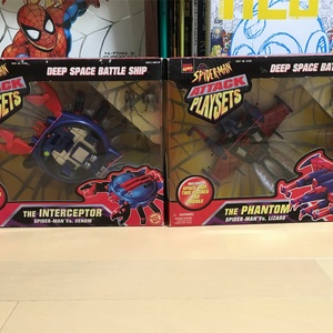 TOYBIZ「SPIDER-MAN ATTACK PLAYSETS」
