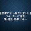 【詐欺】ツイッター界の闇・道化師のサギー【SNS】