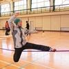 01/07(日) スラックライン体験会 in 矢島体育センター