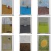 「8cm×12cmの小さなアート」作品追加(#319-#327)