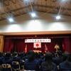 長男・高校卒業式