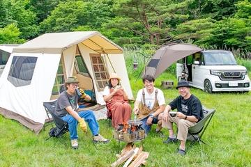 ogawaのグループキャンプ術に迫る! 【連載:アウトドアブランドのプロがHonda車でキャンプ】