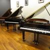 ピアノ&音楽教室ブログVol.42 「グランドピアノ定番機種、2台入荷!」