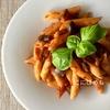 【作り置き】トマトピューレを使って作る!簡単「ベーコンとナスのトマトソース」作り方・レシピ。