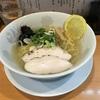冷たいスープのあっさり塩ラーメン@らーめん 紫雲亭 2019ラーメン#77