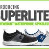 超軽量のシューズがFootjoyから紹介されました。FootJoy SuperLites XP Shoes デザインも軽さも日本人好みです。。