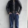 BILT BUCK の定番にして看板アイテムのレザージャケットと言えば、グリズリージャケット(熊ジャン)です(^^♪