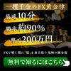 【FXトレード手法】一撃200万円を簡単に狙える究極のFX錬金術とは?