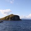 利尻島の岬と灯台