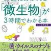 左巻健男本の8月の増刷(『図解 身近にあふれる「微生物」が3時間でわかる本』明日香出版社等)