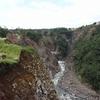 熊本地震から5カ月経ち、南阿蘇村立野地区に足を踏み入れた。