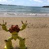 【ガンプラドラマ第5話】沖縄県のサンセットビーチ・渡具知ビーチで観光がてらの作戦会議