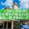 うれしの元湯(佐賀県嬉野市)の口コミ!自家源泉のお風呂、朝食、夕食レポート