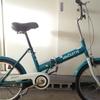 名古屋市お届け無料|激安折りたたみ自転車ノーパンク|中古|愛知防犯登録込|1台廃車無料